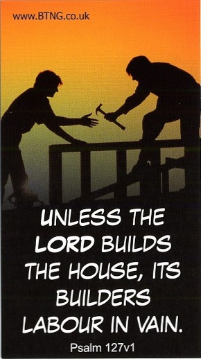 Bible Verse Unless The Lord Builds The House
